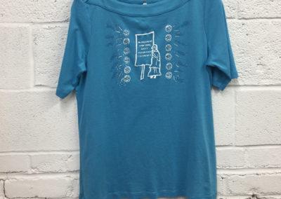 Light blue shirt, size medium
